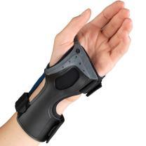 OTC Wrist Brace, Molded Exoskeleton, Low-Profile, Exolite, Medium (Left Hand)