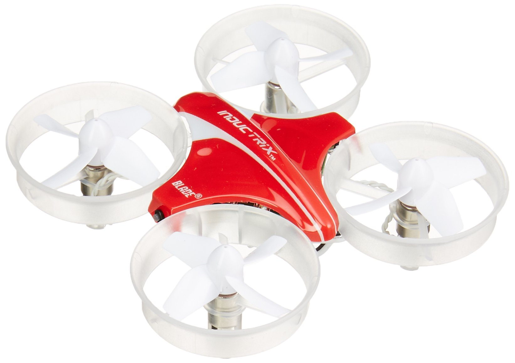 Blade Inductrix Ultra Micro RC Drone BNF with Safe Technology and Self-Leveling (Includes Battery and Charger, Transmitter Sold Separately): BLH8780