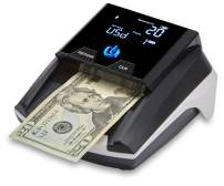 ZZap D40i+ Battery Powered All-Orientation Counterfeit Detector - Money Bill Cash Currency Tester Checker Machine