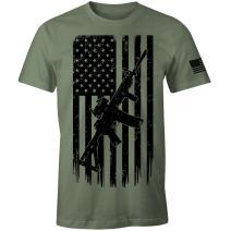 2nd Amendment T-Shirt Pro Second Amendment USA American Flag Patriotic T-Shirt