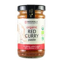 Mekhala Organic Gluten Free Thai Red Curry Paste 3.53oz Value 6 Pack (6x3.5oz)