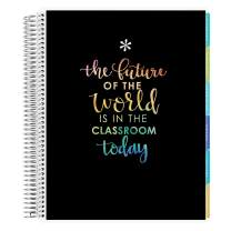 Erin Condren 12 - Month 2020-2021 Classroom Quote Teacher Lesson Planner (August 2020-July 2021) - Kaleidoscope Interior Design, 210 Pages of Planning Potential