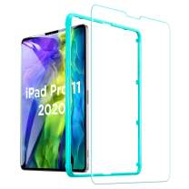ESR Screen Protector for iPad Pro 11 2020 & 2018, 9H-Hard HD Clear Tempered-Glass Screen Protector for the iPad Pro 11-Inch [2X Strength] [Scratch-Resistant]