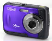 "Coleman Xtreme 18.0 MP HD Underwater Digital & Video Camera (Waterproof to 10 ft.), 2.5"", Purple (C20WP-P)"