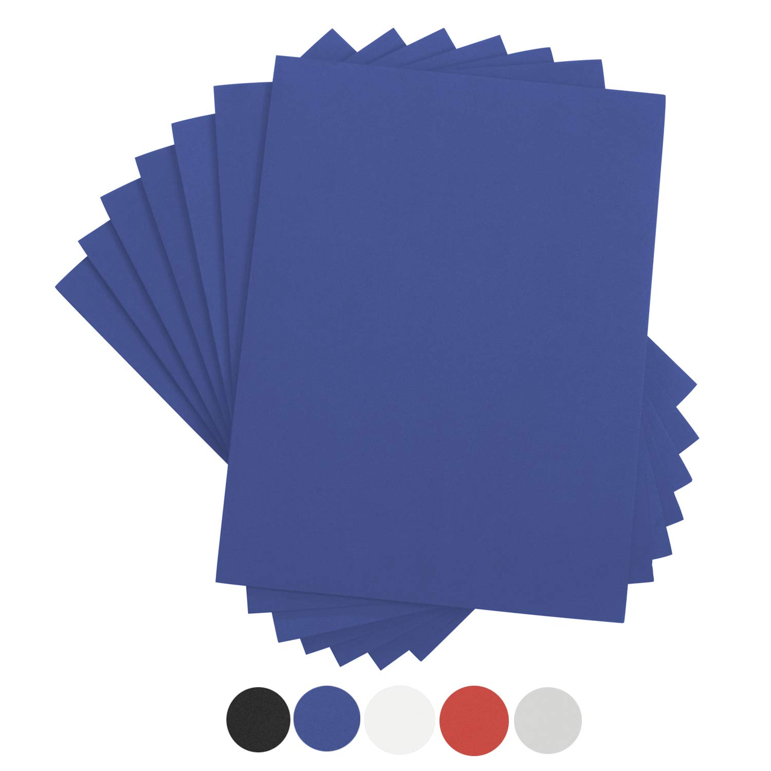 Houseables Crafts Foam Sheets, Art Supplies, 6mm Thick, Blue, 9 X 12 Inch, 10 Pack, Paper Scrapbooking, Cosplay, Crafting Foams Paper, Styrofoam, Foamie, for Kids, Boy Scouts, Halloween, Cushion