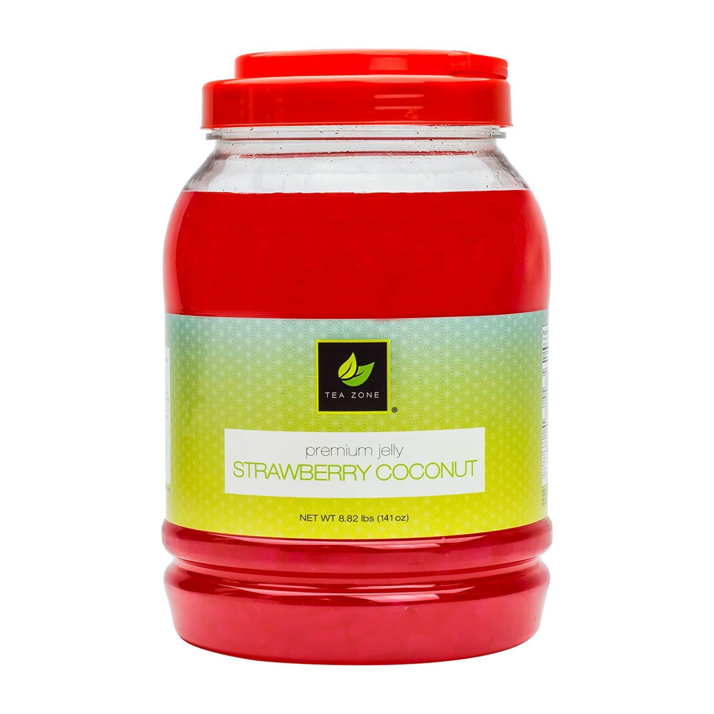 Tea Zone 8.5 lbs Strawberry Coconut Jelly