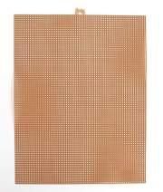 Darice 33900-36, 1 Piece, Mesh Plastic Canvas, Metallic Copper