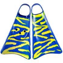 Kpaloa Swim fins Original Blue Zebra Fish Bodyboarding