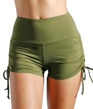 DILANNI Workout Shorts for Women High Waist Mini Running Yoga Short Gym Sports
