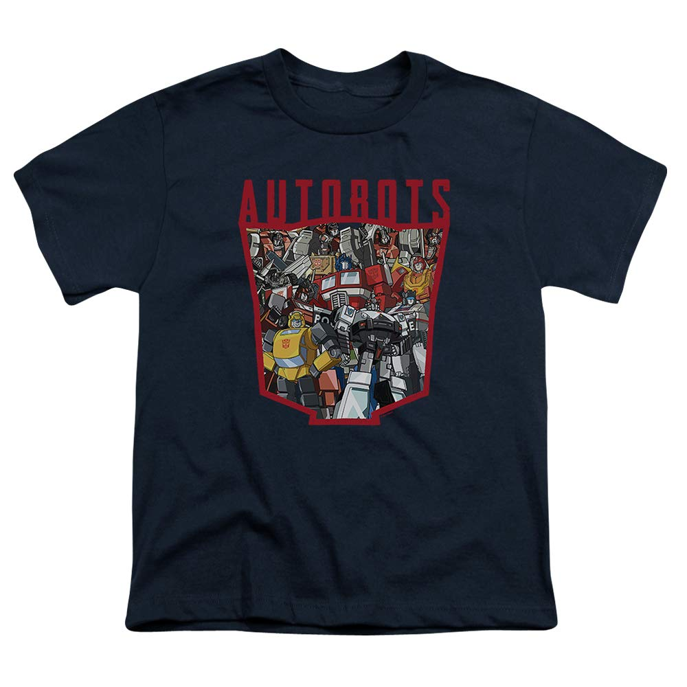 Transformers Autobot Collage Youth T Shirt & Stickers