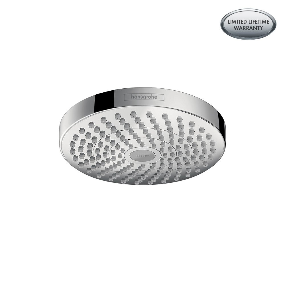hansgrohe 26523001 Croma Select Showerhead, 2.0 gallons per minute, Chrome