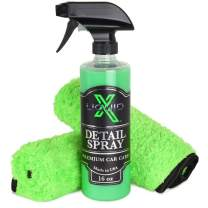 Liquid X Classic Detail Spray Combo - 16oz Detail Spray & Green Xtreme Waffle Weave Microfiber Towels