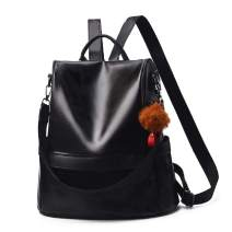 Women Backpack Purse Leather Anti-theft Casual Travel Shoulder Bag for Ladies Elegant Fashion