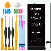 3300mAh Battery for iPhone 7 Plus, XinXu iPhone 7 Plus Battery Replacement Kit High Capacity Lithium-ion Battery with Professional Full Set Tool Kits and Screen Protector