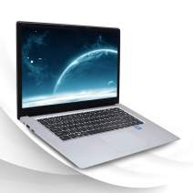LHMZNIY A8 Laptops, 15.6 inch HD Screen 8GB RAM 512GB Intel Celeron J3455 Quad-core CPU Windows 10 BT4.0 Notebook with RJ45 Port Silver 8G RAM+512GB SSD