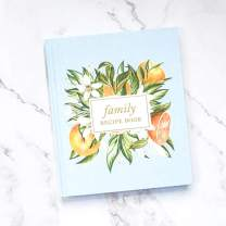 Family Recipe Book & Keepsake Journal   Recipe Binder and Blank Cookbook   Gift for Wife   Gift for Mom   Gift for Grandma