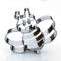Bee Cookie Cutter - Stainless Steel
