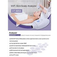 50 Times Skin Analyzer Mini Wireless WiFi Skin/Scalp Analyzer CF-685A Scalp and Hair Super Scope Camera with Computer Analysis Unit — Professional High-Definition Camere 1080P for Healthy and Beauty