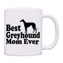 owndis Best Greyhound Mom Ever Gift Coffee Mug-0088-White
