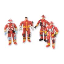 """SmileMakers Action Toy Firefighter Figures - 3.5"""" Tall - 48 Per Pack"""