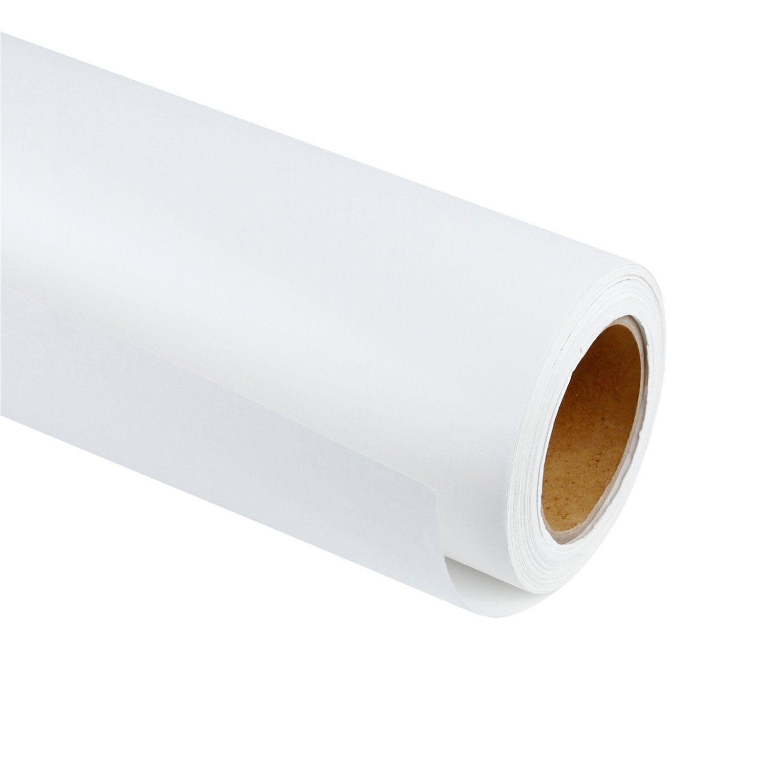 RUSPEPA White Kraft Paper Roll - 48 inch x 100 Feet - Recycled Paper Perfect for Gift Wrapping, Craft, Packing, Floor Covering, Dunnage, Parcel, Table Runner