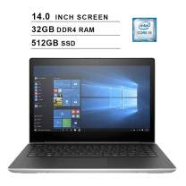 2020 NexiGo Upgraded ProBook 440 14 Inch FHD 1080P Business Laptop| Intel Core i5-7200U up to 3.10 GHz| 32GB DDR4 RAM| 512GB SSD| Intel HD 620| WiFi| Bluetooth| HDMI| Windows 10 Pro| Silver