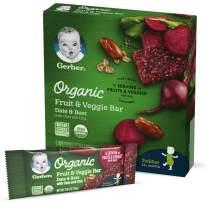 Gerber Organic Fruit & Veggie Bar Date & Beet, 40 Count