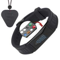 USWEL 7 in 1 Sports Bracelet 100% Waterproof and Fully Adjustable - for Energy, Power and Focus