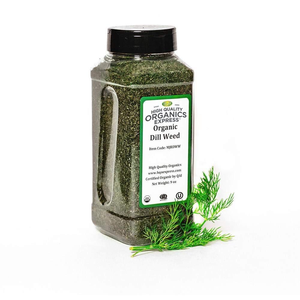HQOExpress | Organic Dill Weed | 6 oz. Chef Jar