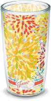 Tervis Fiesta - Poppy Calypso Insulated Tumbler With Wrap, 16 oz, Clear - 1141346