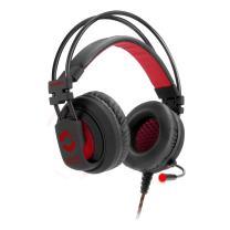 Speedlink Maxter Stereo Gaming Headset for PC/Notebook - Stylish Design, Full-Range Bass, Illuminated Earcups - Black