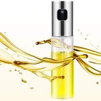 Olive Oil Sprayer for Cooking, Oil Spray Bottle for Salad, Oil Mister Spray Bottle Versatile Glass for Air Fryer, Reusable BBQ Spray Bottle for Kitchen Baking, Roasting