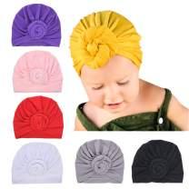 Newborn Baby Cotton Cloth Turban Toddler Rabbit Hospital Hat Ear Hat Kids Set Baby Cap