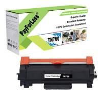 PayForLess Compatible TN760 TN 760 TN730 TN 730 Toner Cartridge 1PK for Brother HL-L2370dw MFC-L2710dw MFC-L2750dw HL-L2350dw DCP-L2550DW HL-L2395dw HL-L2390dw