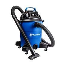 Vacmaster Wet Dry Vacuum 8 Gallon 4 Peak HP Lightweight Shop Vacuum Cleaner with Detachable Blower Powerful Suction Shop Vac for Garage, Basement, Workshop, Carpet