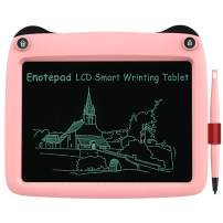 LCD Writing Tablet 9 inch, Best Gift Electronic Drawing and Writing Board for Kids & Adults, Handwriting Paper Doodle Pad for Office, School, Home [Pink]