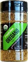 FreshJax Premium Organic Spices, Herbs, Seasonings, and Salts (Certified Organic Oregano - Large Bottle)