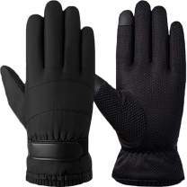 T WILKER Winter Thinsulate Windproof Ski Gloves for Men&Women Touchscreen