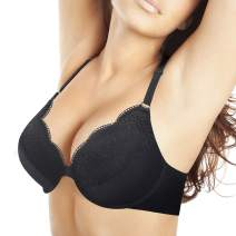 Women's Plus Size Front Closure Bra Support Underwire Full Coverage Everyday Bra for 38D-46DDD Cup