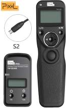 Pixel TW-283/S2 Wireless Shutter Release Timer Remote Control for Sony Digital Camera a7 Series, a7ii,a9, a6500, a7s2, a7r, a7rii,a7s, a3000, a58, a5100, a6500, HX400, NEW-3HL