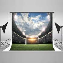 Kate 10x10ft Football Field Photography Backdrop Soccer Backdrops for Children Photo Shoot Props