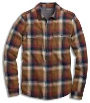 Toad&Co Men's Indigo Flannel Long Sleeve Shirt