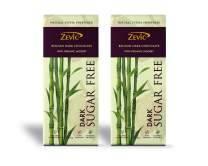 Zevic Chocolate with Organic Jaggery - Pack of 2 (80 gm)