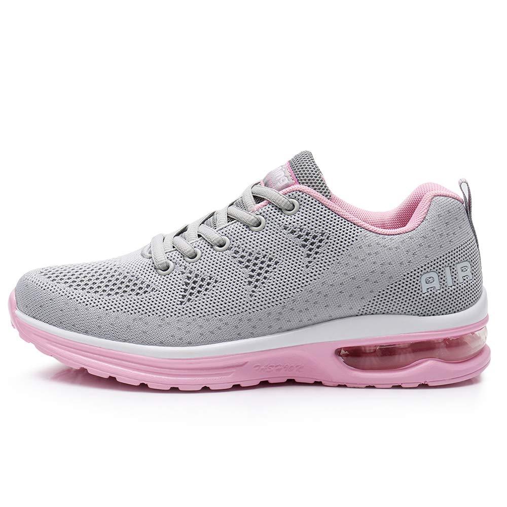 QAUPPE Womens FashionLightweightAir Sports Walking SneakersBreathableGymJoggingRunningTennisShoes US5.5-10 B(M)