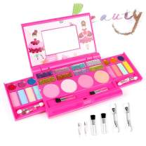 AMOSTING Real Makeup Toy For Girls Pretend Play Cosmetic Set Make Up Toys Kit Gifts for Kids