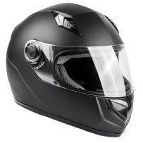 Typhoon Adult Full Face Motorcycle Helmet DOT - SAME DAY SHIPPING (Matte Black, Large)