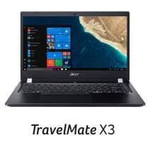 """Acer TravelMate X3 Thin & Light Business Laptop, 14"""" FHD IPS, Intel Core i3-8130U, 8GB DDR4, 128GB SSD, 15 Hrs Battery, Win 10 Pro, TPM 2.0, Mil-Spec, Fingerprint Reader, TMX3410-M-30Q6"""
