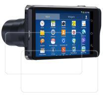 Screen Protectors Compatible Samsung Galaxy Camera 2 II EK-GC200 GC200, AFUNTA 2 Pack Anti-Scratch Tempered Glass Protective Films for DSLR Digital Camera