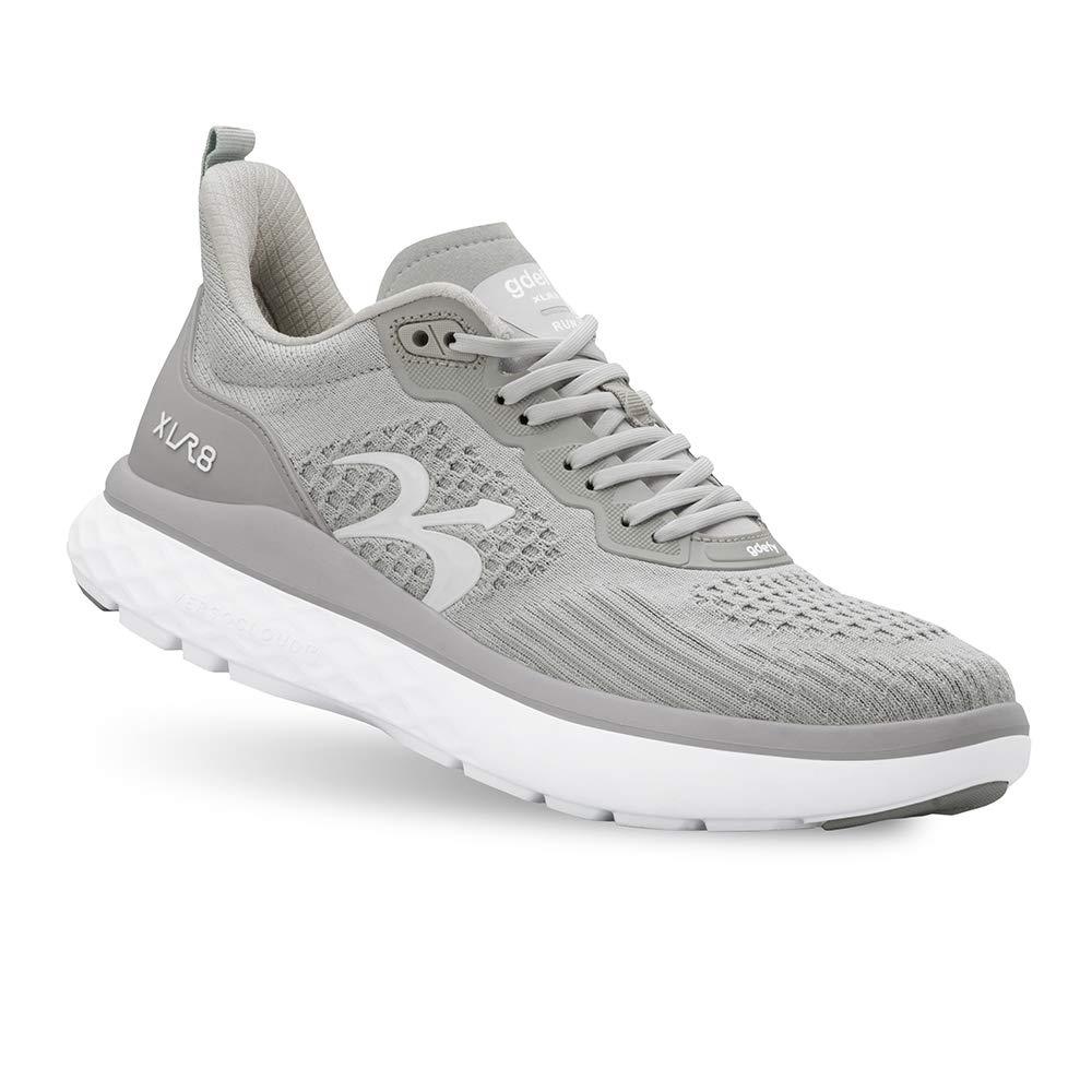 Gravity Defyer Men's G-Defy XLR8 Run - VersoCloud Multi-Density Shock Absorbing Performance Long Distance Running Shoes