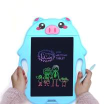 M.best Scribble and Play Color LCD Writing Tablet, 9 Inch Doodle Board Drawing Board Electronic Writing Stylus Smart Paper Drawing Tablet Best Gift for Kids Boys Girls Adults (Rabbit, Blue)